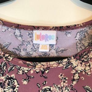 LuLaRoe Tops - LuLaRoe Floral Print Hi-Lo Irma Top - #1005